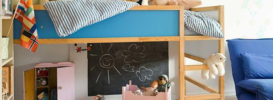 Особенности конструкции кроватей для детей от 2 лет, советы по выбору