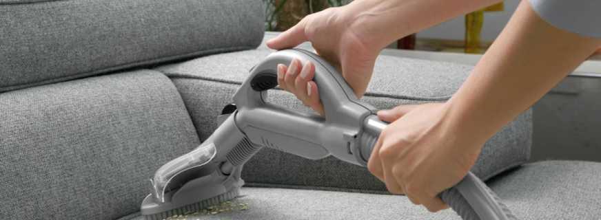 Способы химчистки мебели, рекомендации специалистов