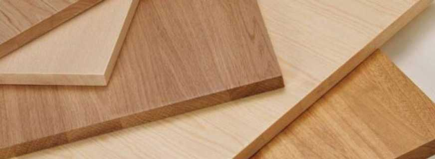 Мебельная доска: выбор и использование