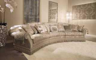 Где купить красивый угловой диван для классического интерьера