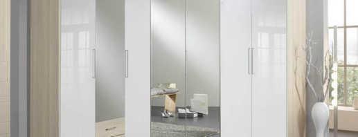 Варианты белых угловых шкафов, и как выбрать
