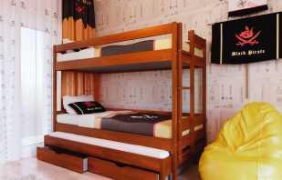 Критерии выбора двухъярусных кроватей, их функциональные особенности