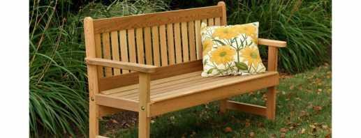 Как сделать своими руками скамейку из дерева, простые мастер-классы