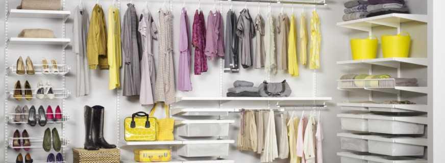Как выбрать гардеробную систему, на что обратить внимание
