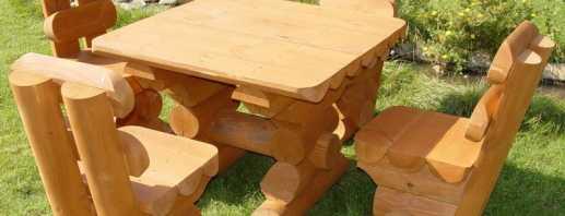 Популярные варианты мебели из березы, основные достоинства материала