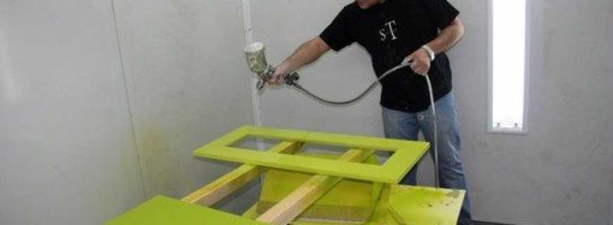 Методы покраски в домашних условиях мебели из ДСП, важные нюансы