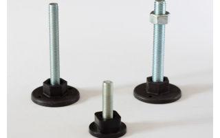 Варианты ножек на мебель, модели регулируемые по высоте