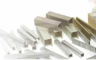 Особенности скоб для мебельных степлеров, нюансы использования
