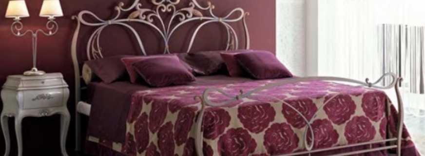 Обзор кованых кроватей разных типов, характеристики конструкций