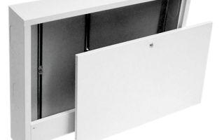 Какие существуют коллекторные шкафы, советы по выбору