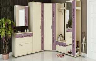 Какие существуют варианты угловой мебели в прихожую