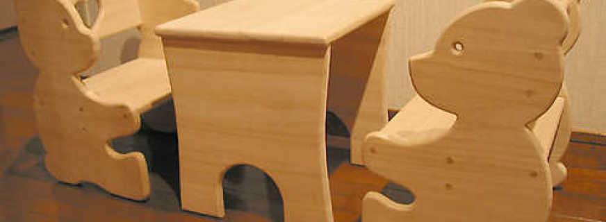 Этапы изготовления своими руками детской мебели