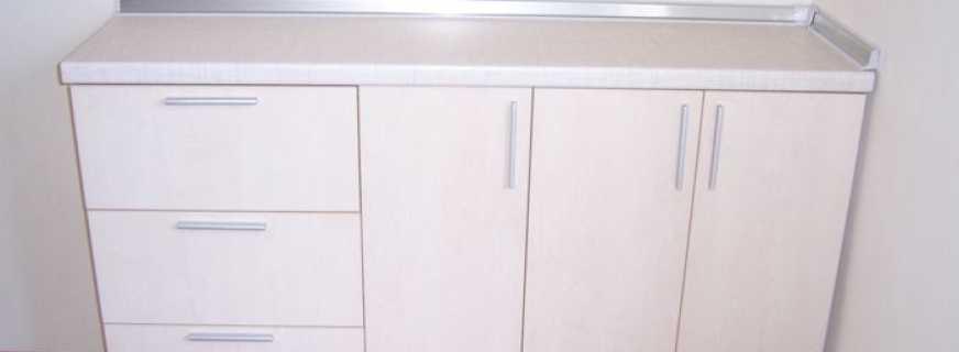 Обзор моделей напольных тумб на кухню, основные моменты подбора