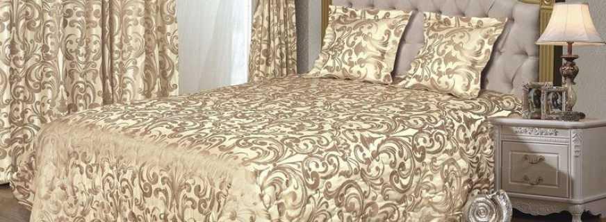Нюансы выбора покрывала на двуспальную кровать, сочетание с интерьером