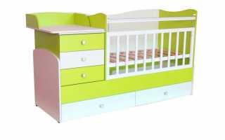 Конструктивные возможности детских кроватей-трансформеров, обзор лучших