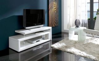 Варианты тумбочек для телевизора, советы по выбору