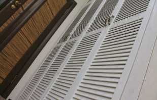 Варианты шкафов с дверьми из жалюзи, советы по выбору