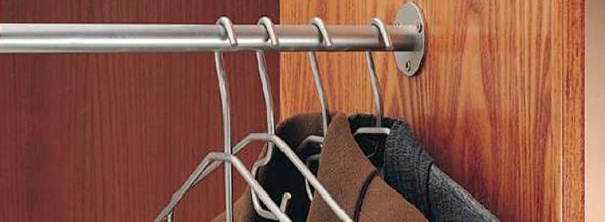 Назначение штанги для шкафов, основные характеристики