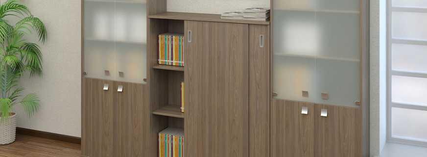 Какие существуют шкафы для документов в офис, обзор моделей