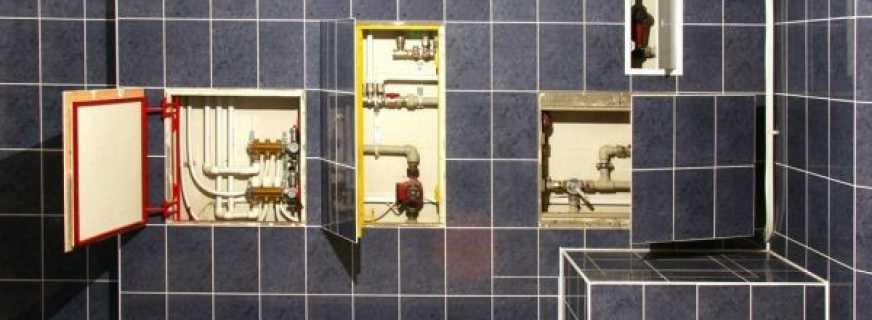 Какие существуют сантехнические шкафы, советы по выбору