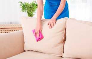Способы как отмыть с дивана кровь, народные рецепты и бытовая химия