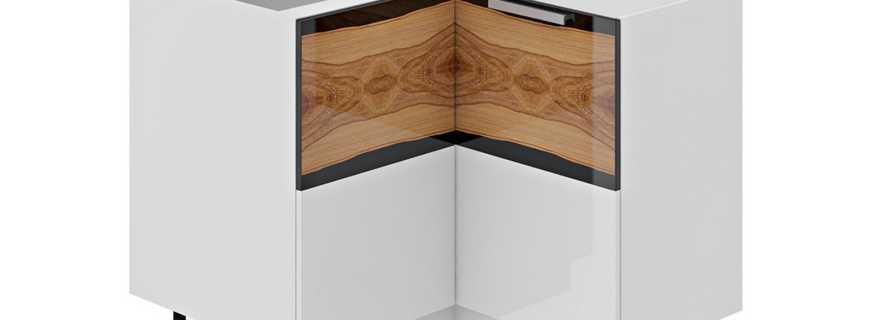 Особенности угловых шкафов на кухню, их плюсы и минусы