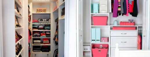 Правила оформления гардеробной комнаты в 2 кв м, фото примеров