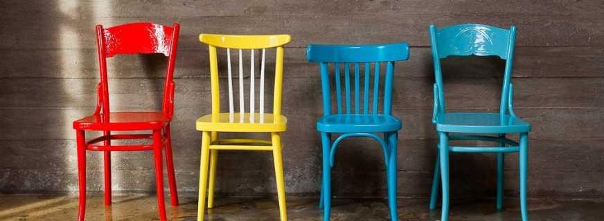 Преимущества реставрации стульев, простые и доступные способы