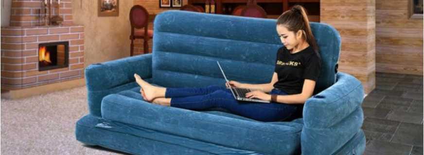 Секреты популярности надувных диванов-кроватей, преимущества конструкции