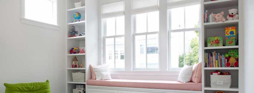 Как сделать диван на подоконнике, разновидности конструкций