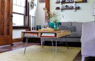 Способы изготовления столов из поддонов, интересные конструкции