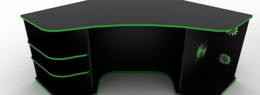 Отличительные особенности стола геймера, требования к мебели