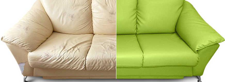 Инструкция по перетяжке мебели, описание процессов