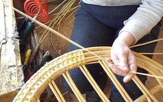 Изготовление своими руками плетеной мебели, все нюансы