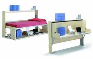 Виды и особенности стола-кровати трансформера, важные нюансы
