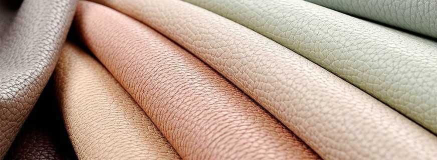 Особенности искусственной кожи для мебели, нюансы выбора