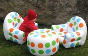 Разновидности надувной мебели, особенности популярных изделий