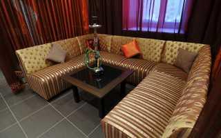 Особенности мебели в кальянную, нюансы выбора