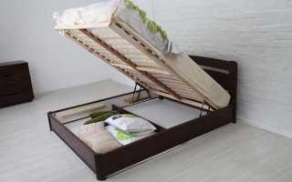 Обзор кроватей с подъемным механизмом, главные критерии правильного выбора