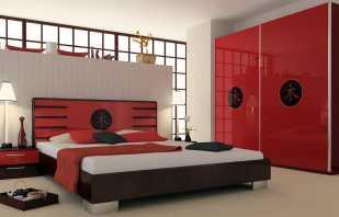 Особенности красной мебели, нюансы выбора