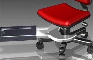 Учимся правильно снимать газлифт с офисного кресла для его замены