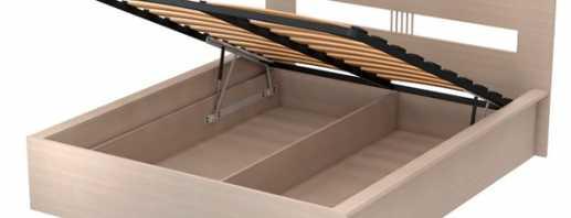 Нюансы изготовления своими руками кровати с подъемным механизмом, этапы сборки