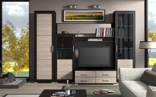 Выбор модульной мебели в гостиную, советы специалистов