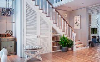 Назначение шкафов под лестницей, нюансы размещения