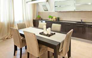 Размеры обеденных столов разных форм, советы по выбору мебели