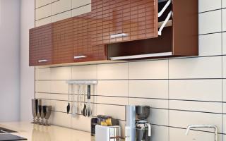 Какие бывают варианты мебельных фасадов в кухню