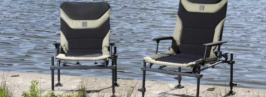Мастер-класс по изготовлению фидерного кресла своими руками
