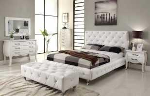 Выбор светлой мебели в спальню, какие есть модели