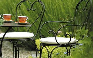 Особенности мебели для сада и дачи, и существующие виды