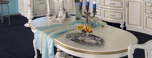 Варианты мебели в столовую, правила выбора и размещения в интерьере
